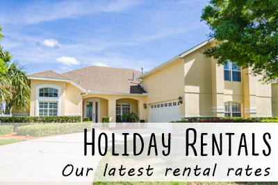 Rent our Holiday Villa